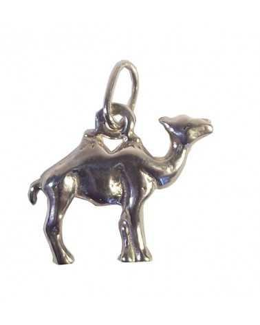 Pendentif chameau argent