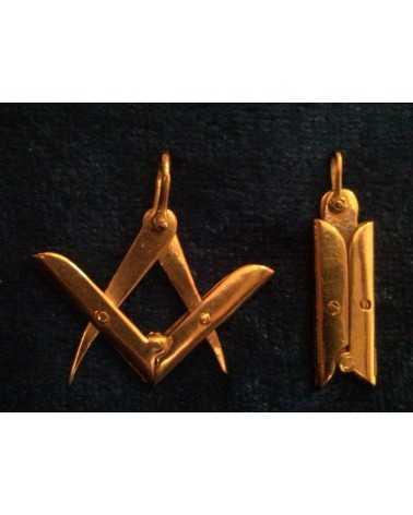 Bijoux maçonniques en or articulé