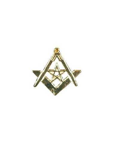 bijoux maçonnique compas équerre étoilé