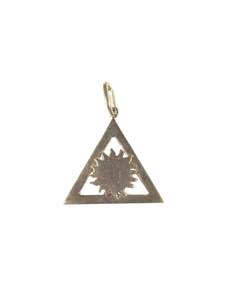 bijou triangle maçonnique soleil