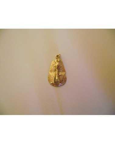 pendentif égyptien tête de Toutankhamon