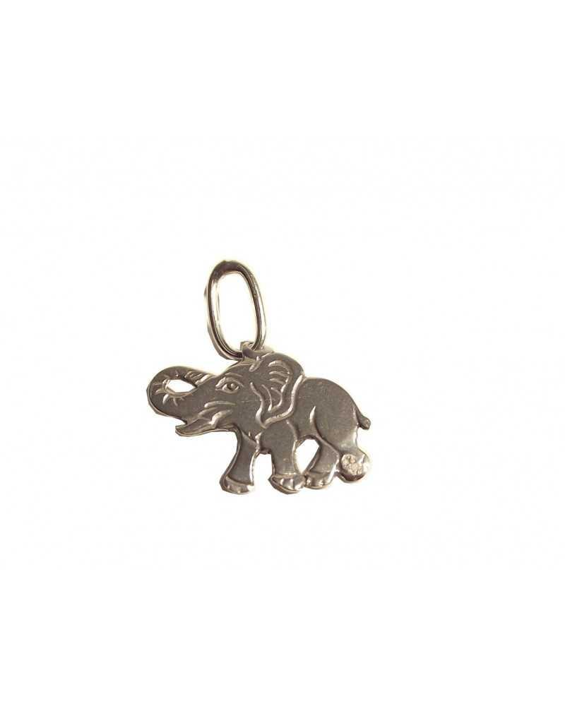 pendentif éléphant en argent