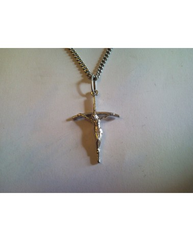 pendentif croix papale