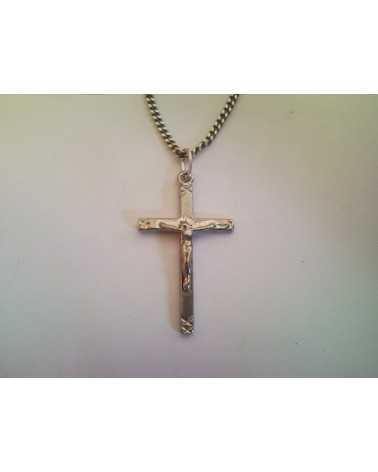 pendentif christ ajoure
