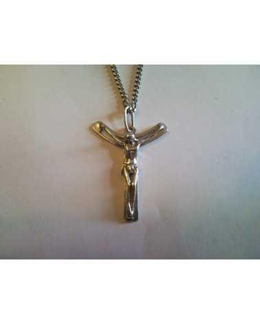pendentif christ anneau